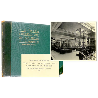 "Illustrated Catalogue of the ""Maze Collection"" of Chinese Junk Models in the Science Museum, London, 1938"