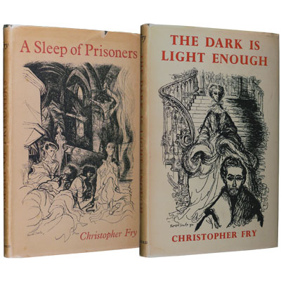 A Sleep of Prisoners, A Play - with - The Dark Is Light Enough