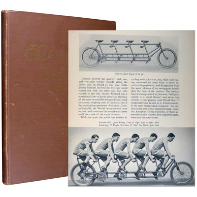 Fifty Years of Schwinn-Built Bicycles – The Story of the Bicycle and its Contributions to Our Way of Life