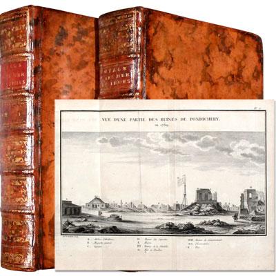 Voyage dans les Mers de l'Inde, fait par ordre du Roi, A l'occasion du Passage de Vénus, sur le Disque du Soleil, le 6 Juin 1761, & le 3 du même mois 1769