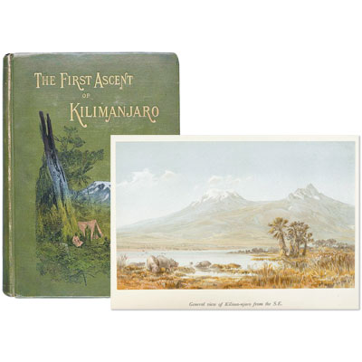 Across East African Glaciers. An Account of the First Ascent of Kilimanjaro