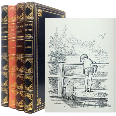 The Pooh Books - When We Were Very Young; Winnie the Pooh; Now We Are Six; and The House at Pooh Corner