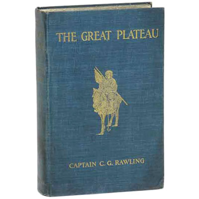 The Great Plateau being an Account of the Exploration in Central Tibet, 1903, and of the Gartok Expedition, 1904-1905
