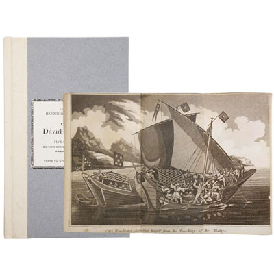 Extraordinary Hardships and Adventures of Captain Woodard. And Five Companions, Who lost their Vessel, The Resistance, and afterwards their Boat, at Sea, Including their Escape from the Malays, after A Captivity of Near Three Years, and the the Horrid Murder of Archibald Millar, one of the Above Party.