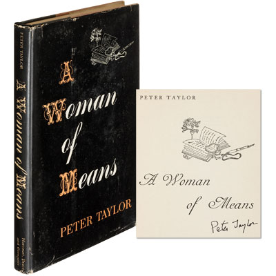 A Woman of Means - SIGNED