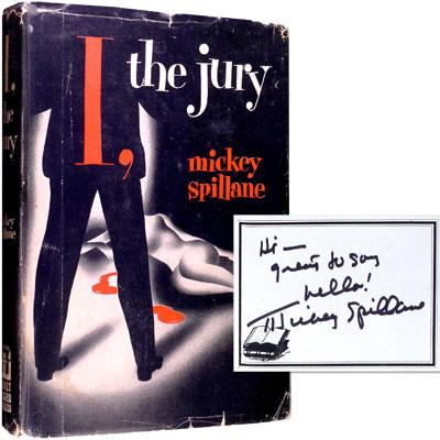 I, the Jury - Inscribed