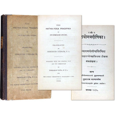 The Hatha-Yoga Pradipika of Swatmaram Swami. Published with the original text and its commentary