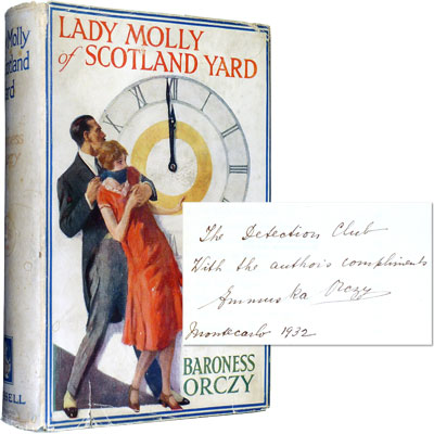 Lady Molly of Scotland Yard – Inscribed to the Detection Club