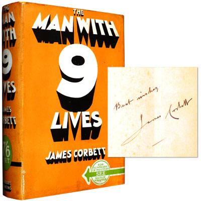 The Man With Nine Lives - Signed