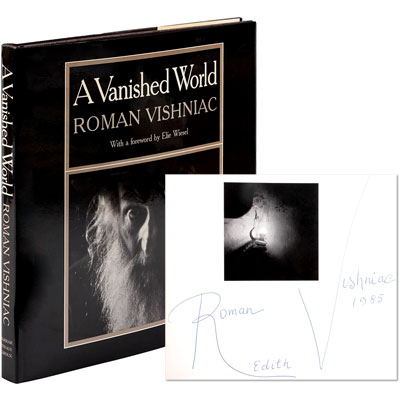 A Vanished World - Signed