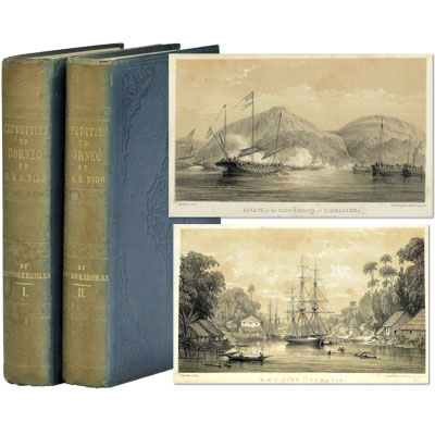 RESERVED - The Expedition to Borneo of H.M.S. Dido for the Suppression of Piracy: With Extracts from the Journal of James Brooke Esq. of Sarawak (now Agent for the British Government in Borneo)
