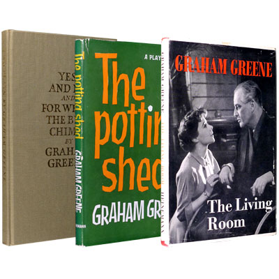 The Living Room: A Play in Two ActsThe Potting Shed - A Play in Three ActsYes and No and For Whom the Bell Chimes
