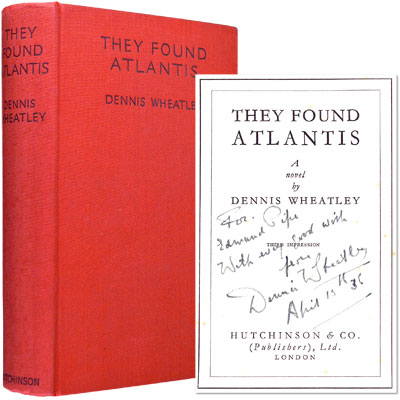 They Found Atlantis - Inscribed