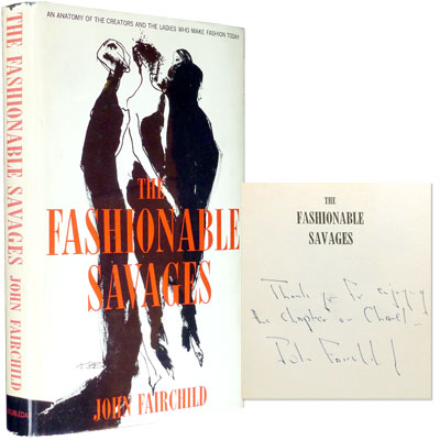 The Fashionable Savages - Inscribed
