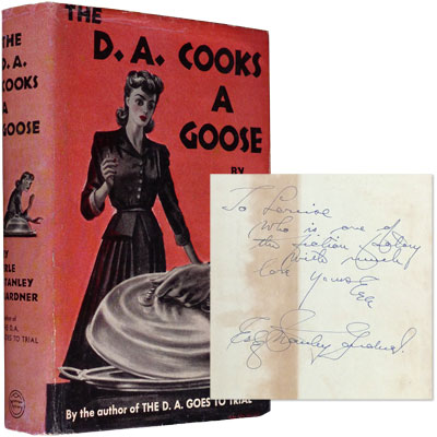 The D. A. Cooks a Goose - Inscribed