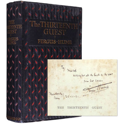 The Thirteenth Guest - Inscribed