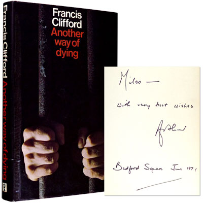 Another Way of Dying - Signed & Inscribed