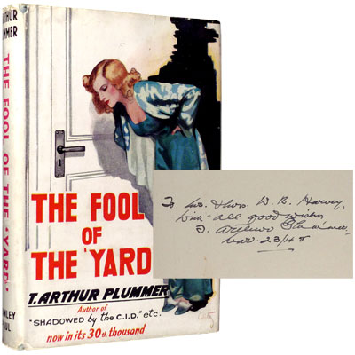 The Fool of the 'Yard' - Inscribed