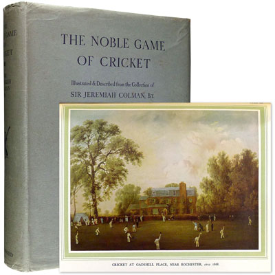 The Noble Game of Cricket