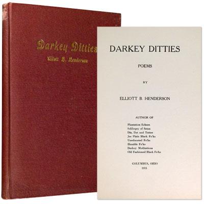 Darkey Ditties. Poems.